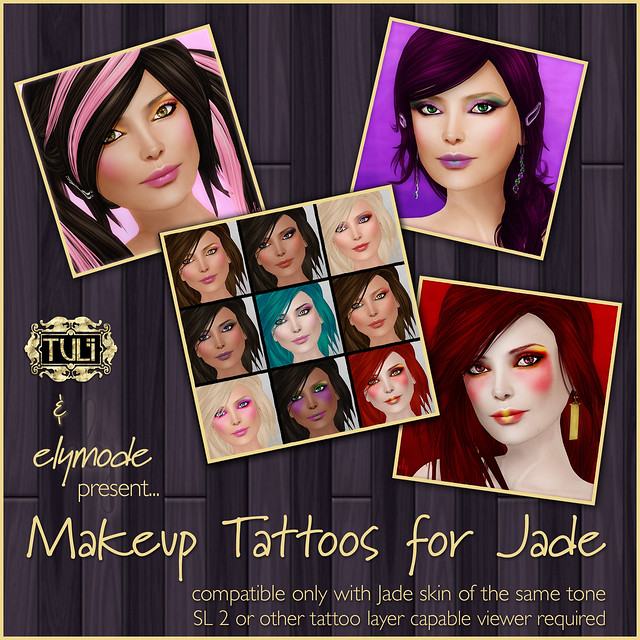Tuli Jade Makeup Tattoos are here!
