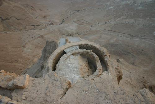 Ruins of Herod's Masada palace