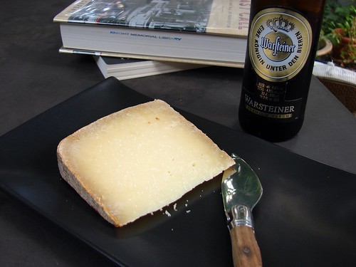 cheese, beer, books