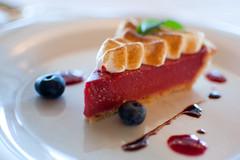Rhubarb Ontario Berry Tart
