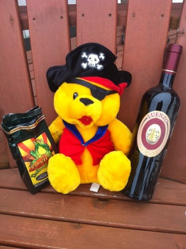 The new pirate bear