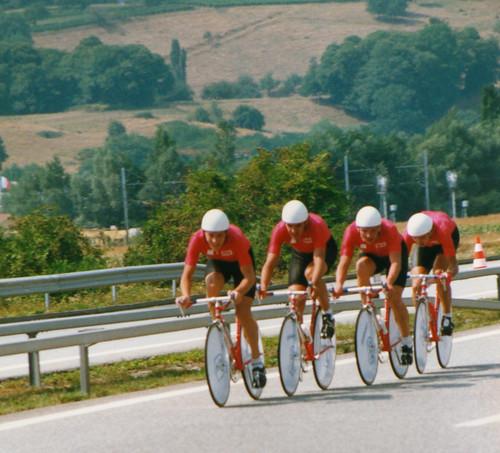 Soviet Union 100km TTT Chambéry Aug 1989