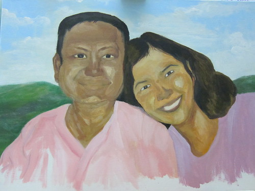 portrait - mom and dad (finished)