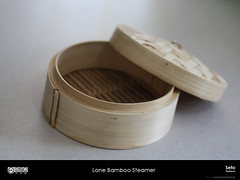 Lone Bamboo Steamer