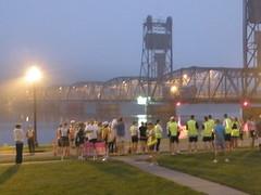 Stillwater Lift Bridge at Dawn #ragnar - Saturday