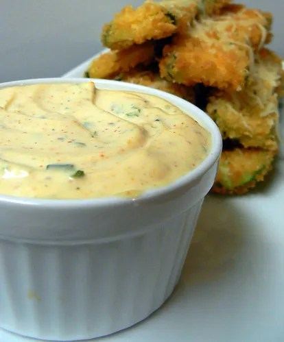 Maggiano's Fried Zucchini with Lemon Dip (2/6)