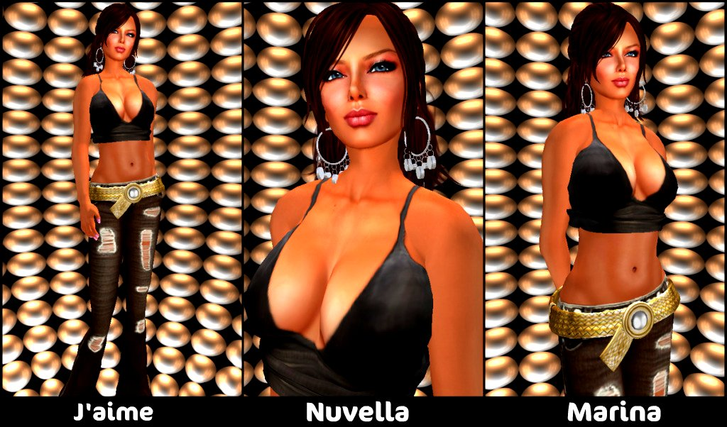 BLOG:  Indyra Originals - J'aime, Nuvella, Marina