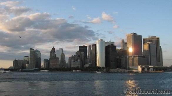 Manhattan Skyline at Sunset, NYC