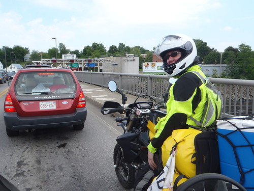 Calais, Maine border crossing into St. Stephen, New Brunswick, Canada