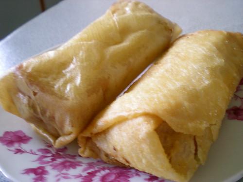 Deep fried bread rolls
