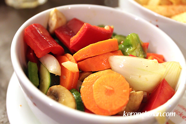 Peri-fect Platter - Grilled Vegetables