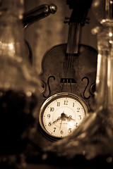 Fiddle Clock