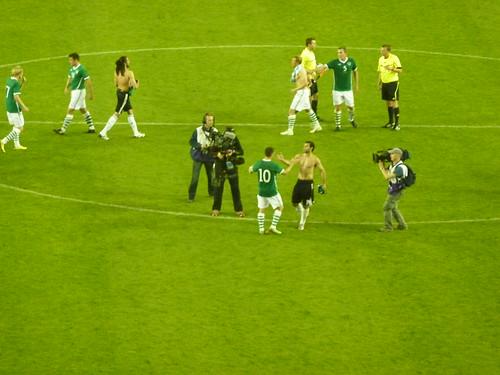 Ireland -v- Argentina, Friendly