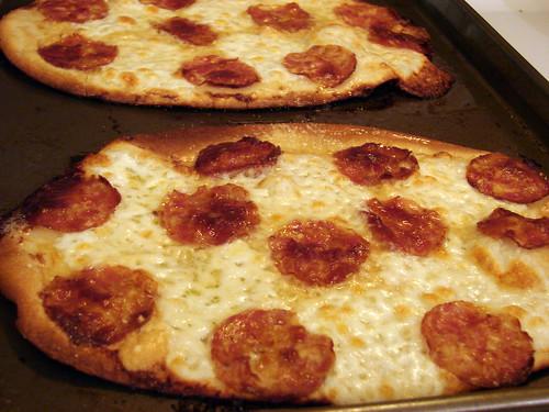 cheese + pepperoni