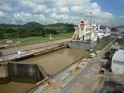 Panamakanal, Miraflores Schleusen