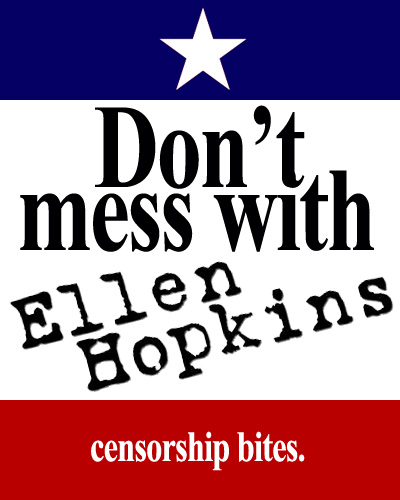 Don't mess with Ellen Hopkins