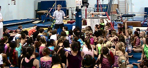 Kyle Shewfelt at Go For It Gymnastics, Vegas