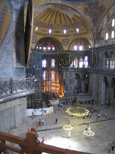 Hagia Sophia - Magnificient Byzantine Church Turned Mosque, Istanbul, Turkey