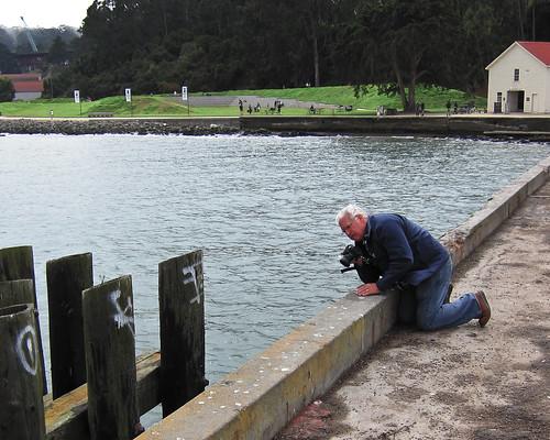 Doug Kaye on the Warming Hut Pier - San Francisco