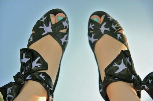 DIY Miu Miu Sparrow Shoes