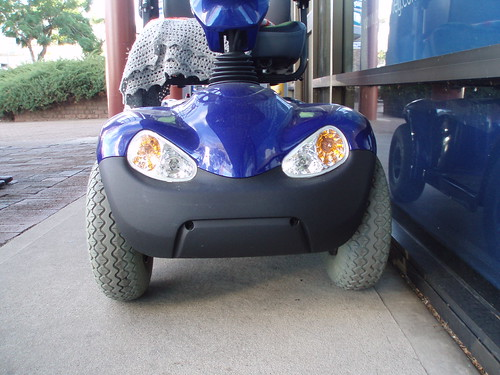 Scowling Scooter