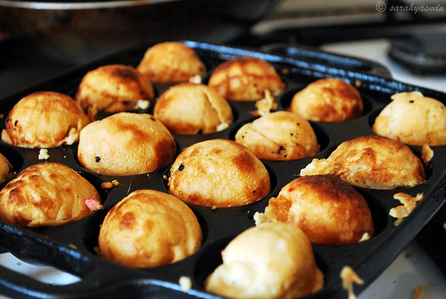 home made takoyaki