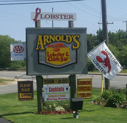Arnold's Front Sign