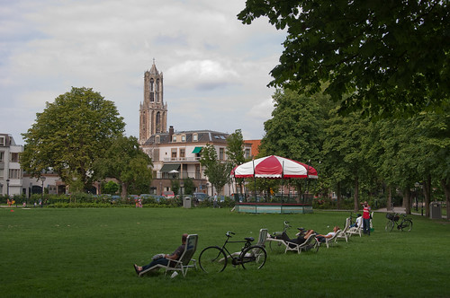 Sunday at the park in Utrecht