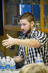 David Stagg at  Wordcamp Houston 2010