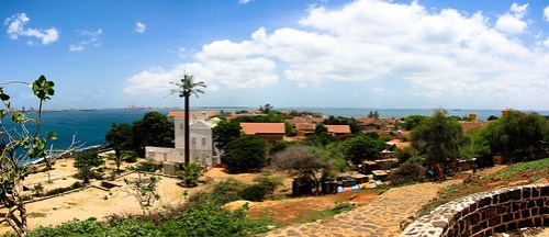 Overlooking Goree