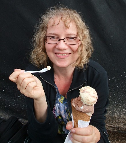 Ice cream at Øya