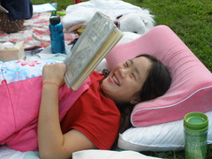 Reading Aloud Outside