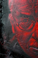 Carl Gustav Jung painted portrait P1050156