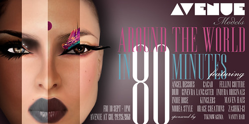 AVENUE Models :: Around the World in 80 Minutes
