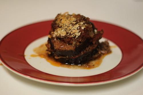 Lamb and Eggplant Al Forno
