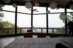 Blue Mountain Lodge interior and view