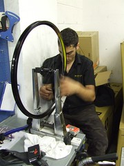 Brendan builds a wheel
