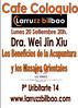 Cafe Coloquio Dra. Wei en Larruzz