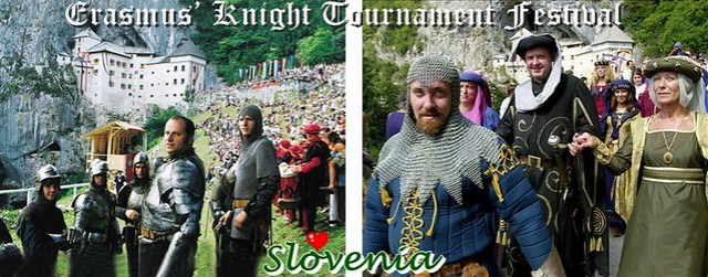 Erasmus' Knight Tournament Festival 的照片,很像在拍電影吧!