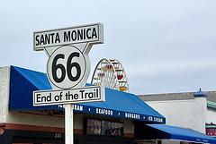 Route 66 - End of the Trail - Santa Monica Pier