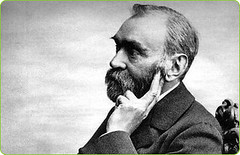Alfred Nobel, the founder of the Nobel Peace Prize