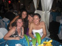 The ladies + bride