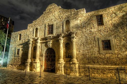 Alamo Night (HDR)
