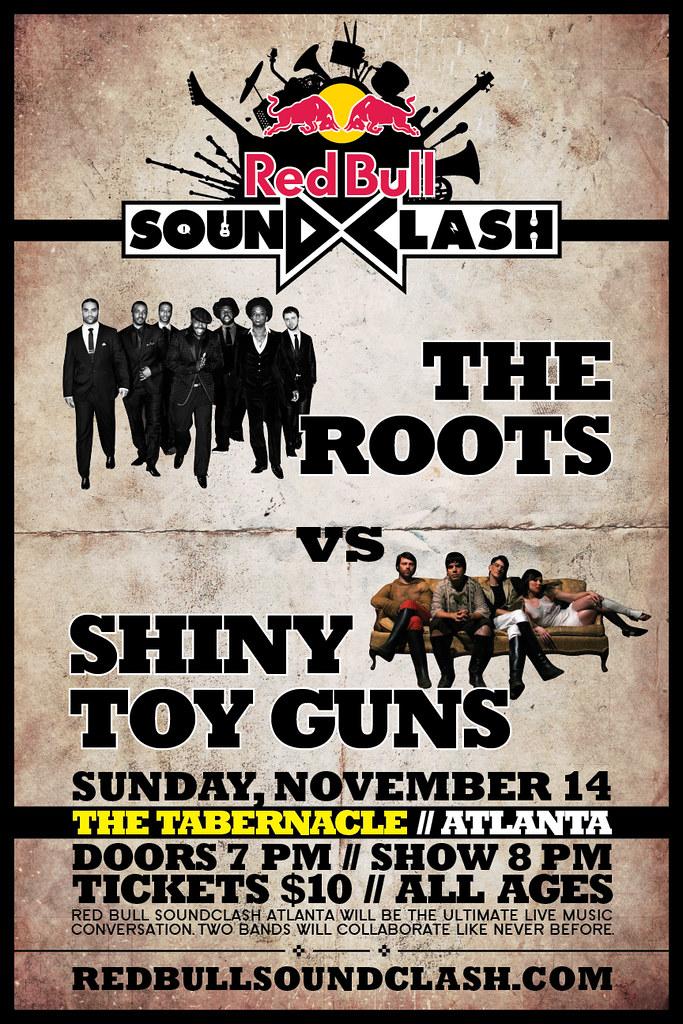 Red Bull Sound Clash - Roots vs. Shiny Toy Guns