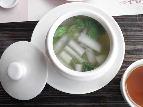 茶香雲吞湯