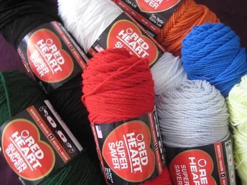 redheart yarn
