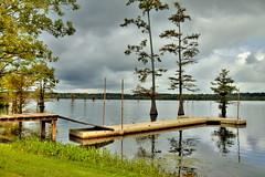 Finch Lake Rainy Day - HDR