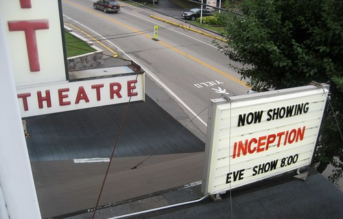 Leavitt Theatre Ogunquit ME From Projection Booth