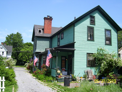 Shackelton house after restoration