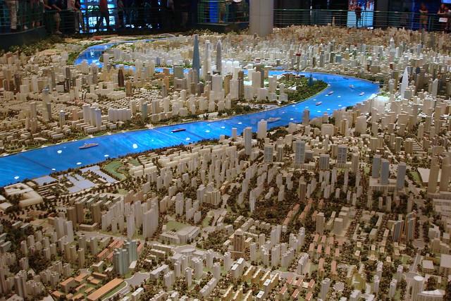 The Shanghai Urban Planning Exhibition Center